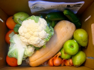 Bottom Layer of Produce