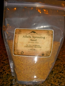 Alfalfa Sprouting Seed