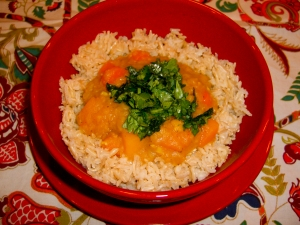Curried Red Lentil Stew