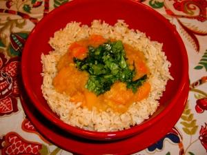 Curried Red Lentil Stew