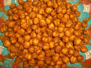 Baked Spiced Chickpeas