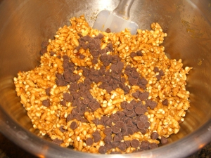 Add Carob Chips & Mix
