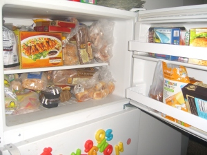 Outside Freezer