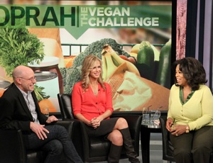 Michael Pollan, Kathy Freston, & Oprah. Photo from Oprah.com