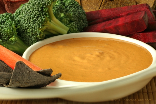 Cheezy Hemp Nacho Sauce
