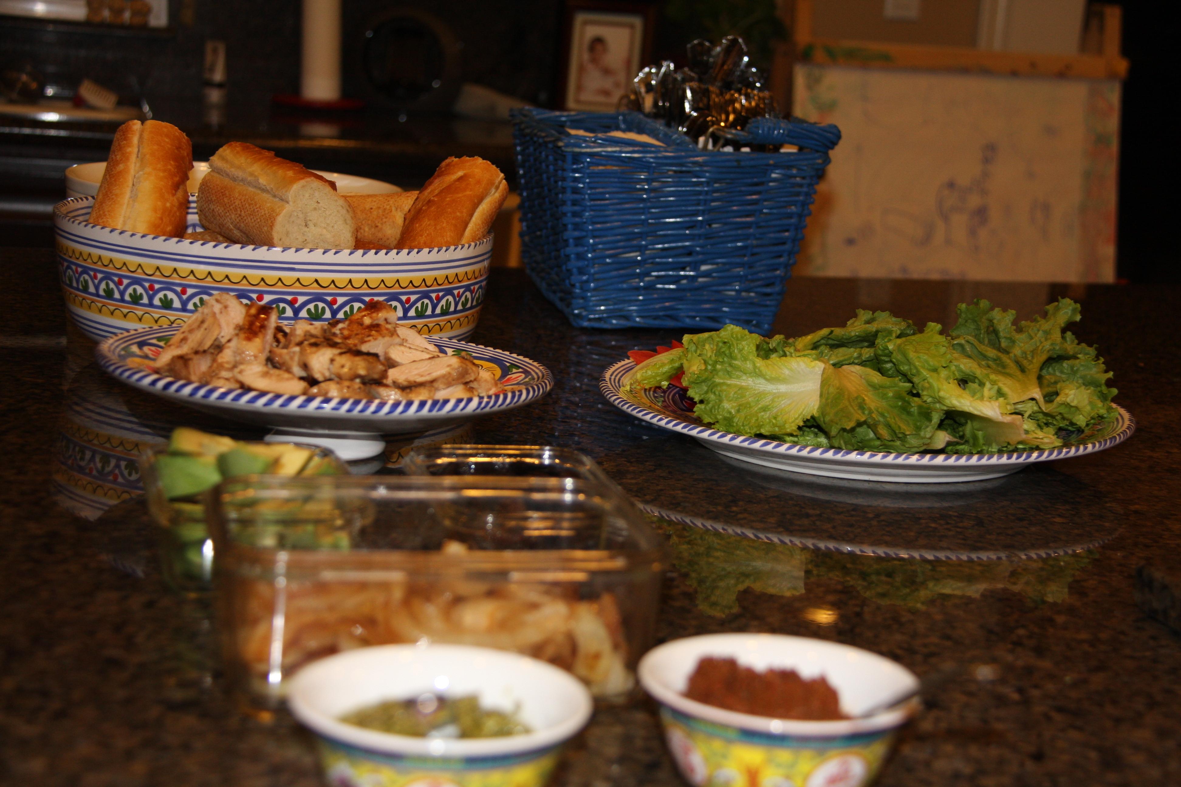 Gourmet Sandwich Bar Great For Entertaining Fitquest