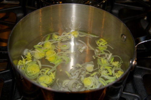Water With Leeks