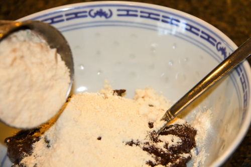 Add the Coconut Flour