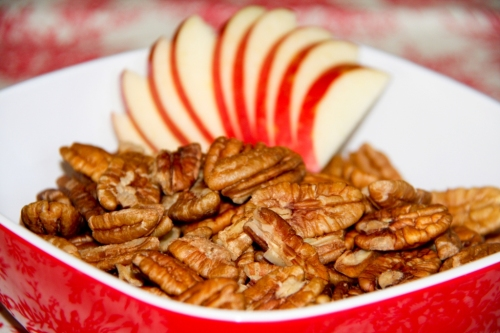 Apple Pie Infused Pecans