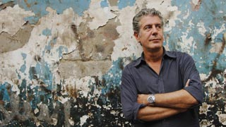 Anthony Bourdain. Photo Courtesy of Travel Channel