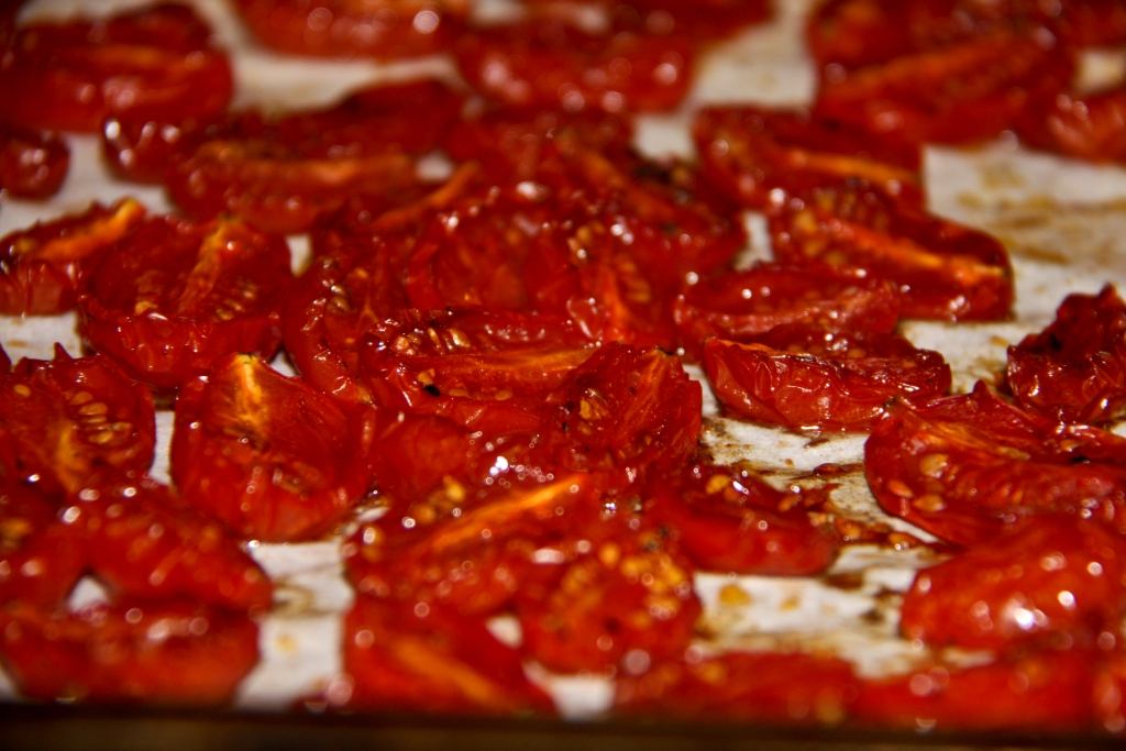 OVEN ROASTED TOMATOES | BALANCED GRETTIE