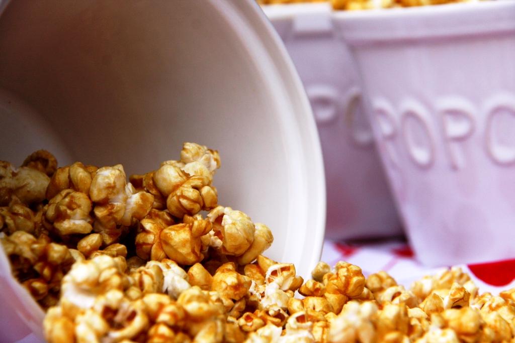 SRC – Microwave Caramel Popcorn | BALANCED GRETTIE
