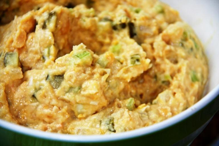 soy-free vegan tuna chicken salad recipe | BALANCED GRETTIE