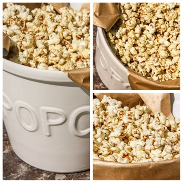 Curry popcorn done
