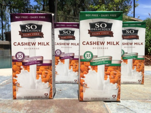 So Delicious Cashew Milk COMPRESS