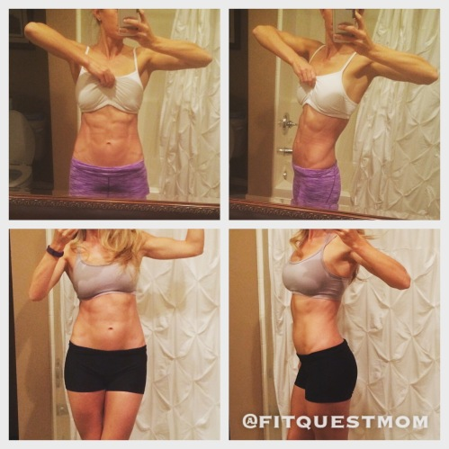Gretchen Tseng FitQuestMom muscle building