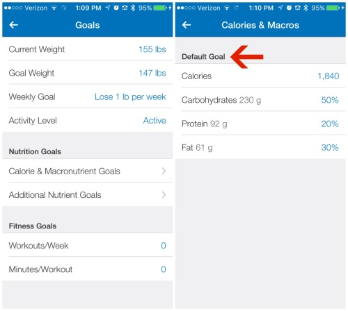 9.3 Goals to Cals and Macros