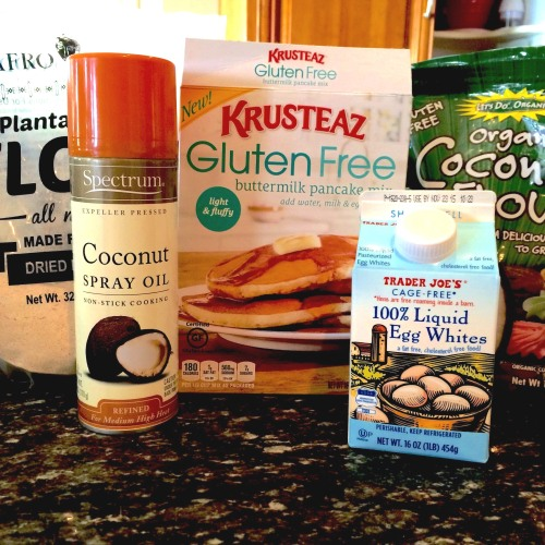Balanced Grettie Lower Carb Waffle Ingredients